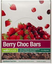 Food Bars - Berry Choc x 10 (Value Pack)